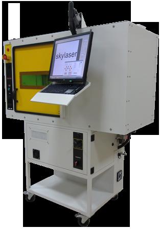 Laserfolienbeschriftungsmaschine Faserlaser