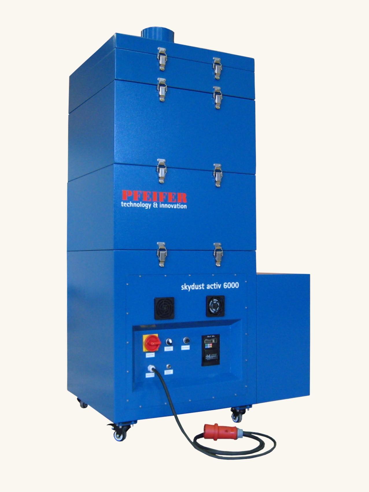 CO2 Laser Absaugungsanschluss für Absaugung skydust 6000