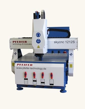 CNC Maschine SkyCNC WK 1212S Fräsmaschine