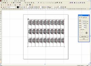 Markierungslaser Software mit Seriennummern