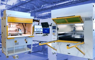 Lasermaterialbearbeitung PFEIFER technology & innovation Bildsymbol Laseranlagen