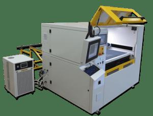 Laserbearbeitungszentrum skyCUBE Pclass Textilien