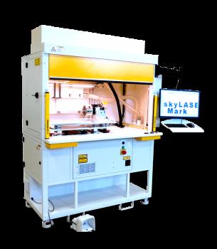 skyLASER Mark Laserbeschrifter 1200 Faserlaser Lasergravierer